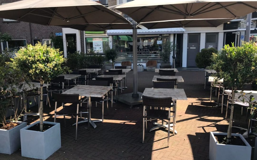 Ons terras is geopend!